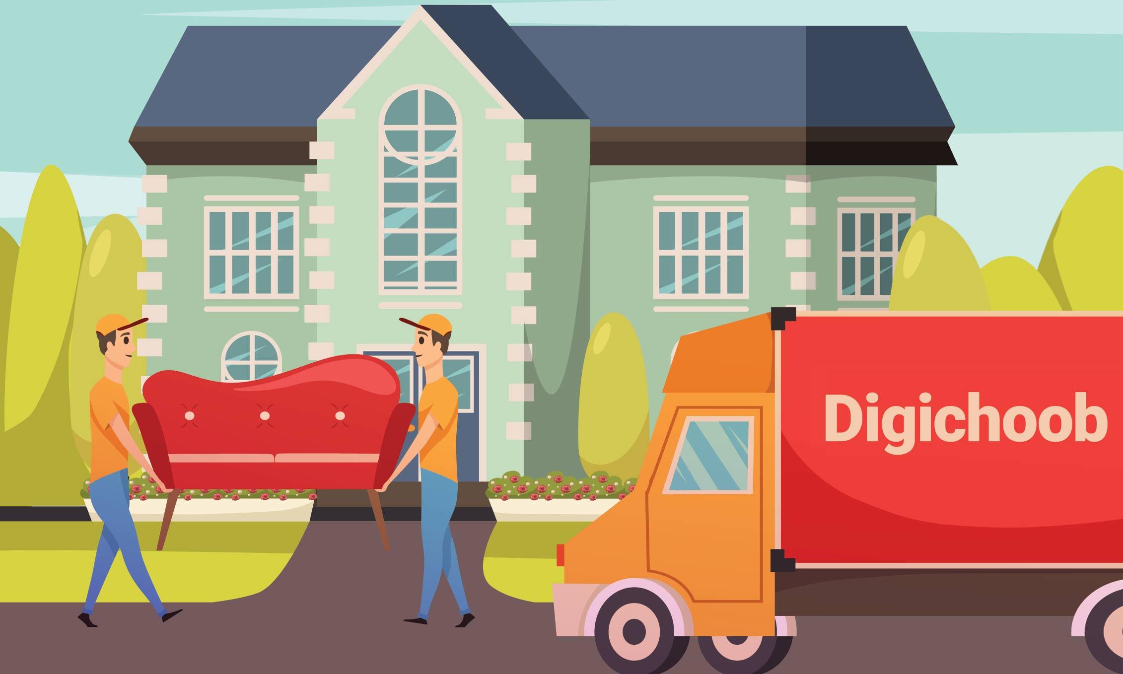 قوانین حمل و نقل در فروشگاه اینترنتی دیجی چوب