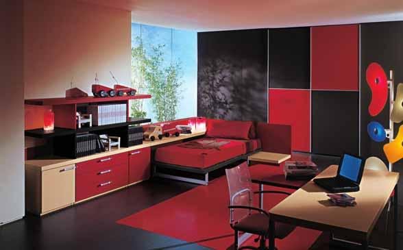 چیدمان اتاق کار در اتاق خواب به سبک فنگ شویی